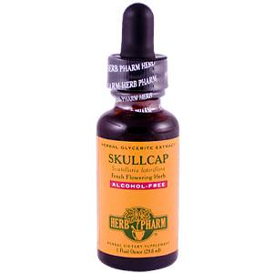 Herb Pharm, Skullcap, Alcohol-Free, 1 fl oz (29.6 ml)