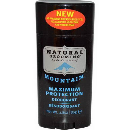 Herban Cowboy, Natural Grooming, Deodorant, Mountain, 2.8oz (80g)
