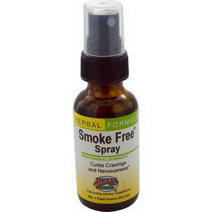 Herbs Etc. Smoke Free Spray, 1 fl oz (29.5 ml)