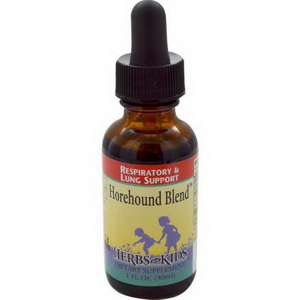 Herbs for Kids, Horehound Blend, 1 fl oz (30 ml)