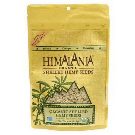 Himalania, Organic Shelled Hemp Seeds with Himalayan Pink Salt, 4oz (113g)