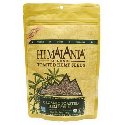 Himalania, Organic Toasted Hemp Seeds with Himalayan Pink Salt, 8oz (227g)