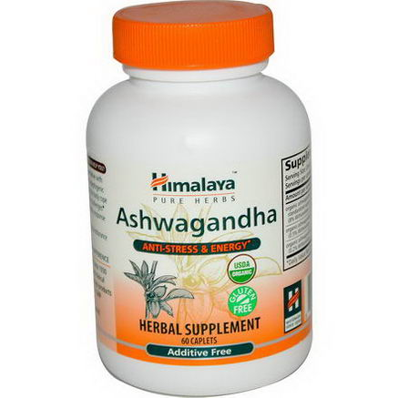 Himalaya Herbal Healthcare, Ashwagandha, 60 Caplets