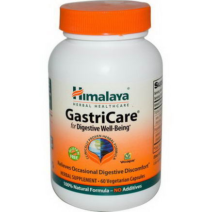 Himalaya Herbal Healthcare, GastriCare, 60 Veggie Caps