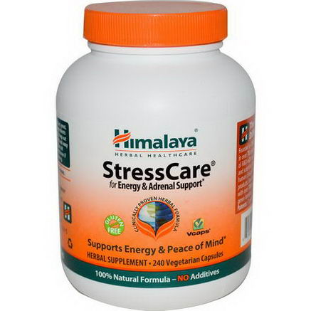 Himalaya Herbal Healthcare, StressCare, 240 Veggie Caps