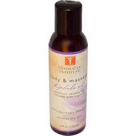 Himalayan Institute, Body & Massage, Triphala Oil, 4 fl oz (118 ml)