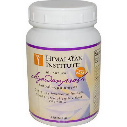 Himalayan Institute, Chyawanprash Spreadable Jam, 1.1 lbs (500g)