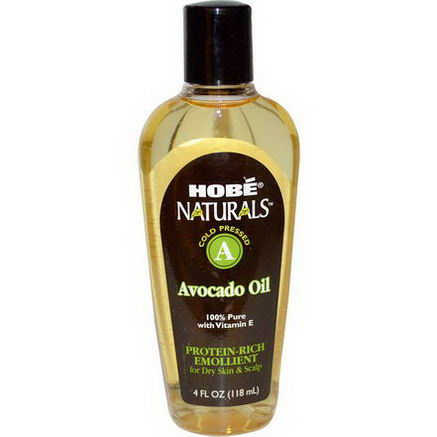 Hobe Labs, Naturals, Avocado Oil, 4 fl oz (118 ml)
