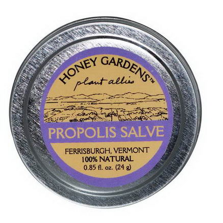 Honey Gardens, Propolis Salve, 0.85 fl oz (24g)
