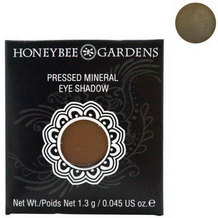 Honeybee Gardens, Pressed Mineral Eye Shadow, Coco Loco, 0.045oz (1.3g)