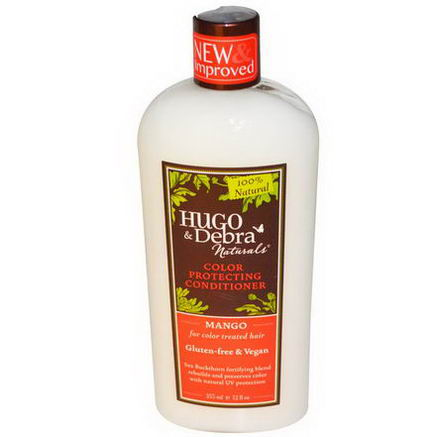 Hugo Naturals, Color Protecting Conditioner, Mango, 12 fl oz (355 ml)
