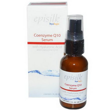 Hyalogic LLC, Episilk, Coenzyme Q10 Serum, 1 fl oz (30 ml)
