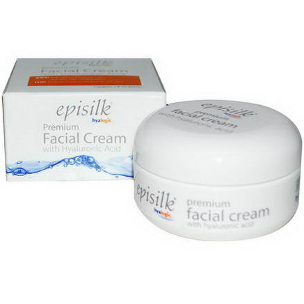 Hyalogic LLC, Episilk, Premium Facial Cream, 2 fl oz (60 ml)