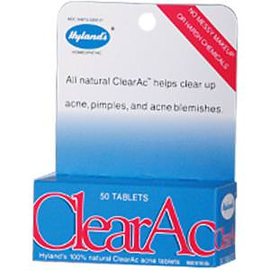 Hyland's, ClearAc, 50 Tablets