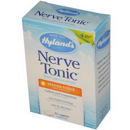 Hyland's, Nerve Tonic, Stress Relief, 32 Caplets