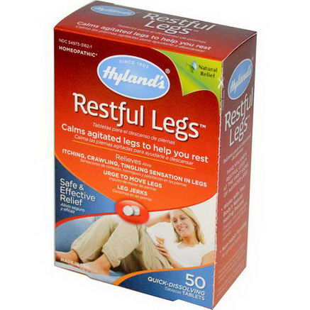 Hyland's, Restful Legs, 50 Quick-Dissolving Tablets