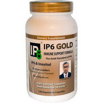 IP-6 International, IP-6 Gold, Immune Support Formula, 120 Veggie Caps