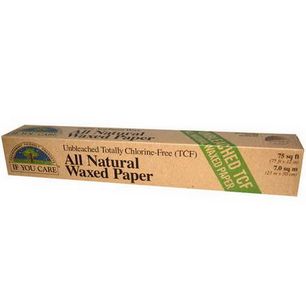 If You Care, All Natural Waxed Paper, 75 sq ft (75 ft x 12 in)