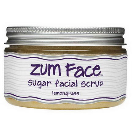 Indigo Wild, Zum Face, Sugar Facial Scrub, Lemongrass, 5oz