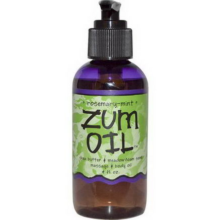 Indigo Wild, Zum Oil, Rosemary-Mint, 4 fl oz