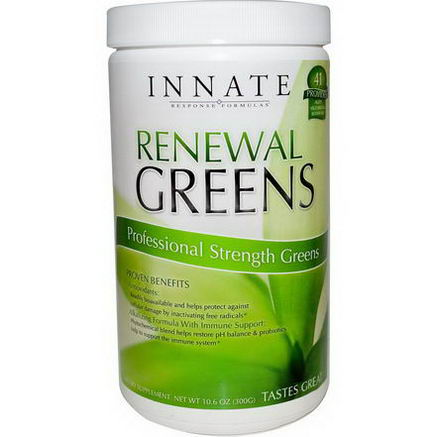 Innate Response Formulas, Renewal Greens, Professional Strength Greens, 10.6oz (300g)