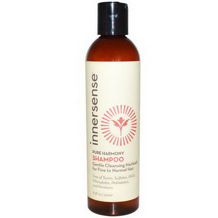 Innersense Organic Beauty, Pure Harmony Shampoo, 8.5 fl oz (250 ml)