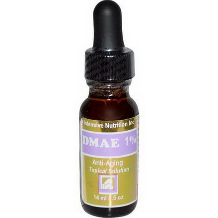 Intensive Nutrition, DMAE 1%, Anti-Aging Topical Solution, 5oz (14 ml)