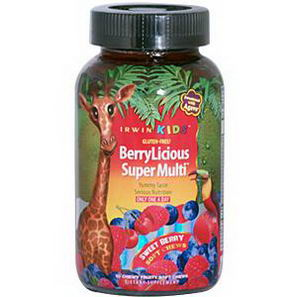Irwin Naturals, BerryLicious Super Multi, Sweet Berry, 30 Chewy Fruity Soft Chews