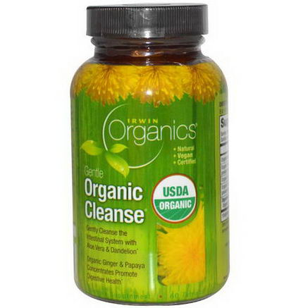 Irwin Naturals, Gentle Organic Cleanse, 60 Tablets