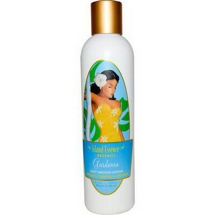 Island Essence, Silky Smooth Lotion, Gardenia, 8.5oz (250 ml)