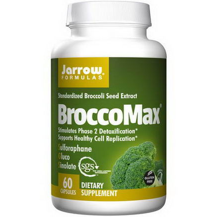 Jarrow Formulas, BroccoMax, Standardized Broccoli Seed Extract, 60 Capsules