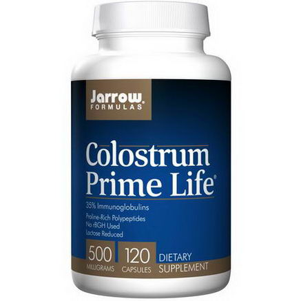 Jarrow Formulas, Colostrum Prime Life, 500mg, 120 Capsules