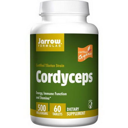 Jarrow Formulas, Cordyceps, 500mg, 60 Tablets