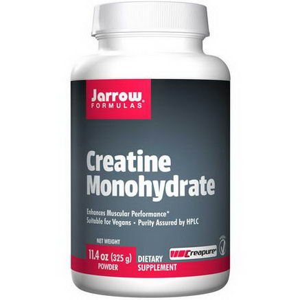 Jarrow Formulas, Creatine Monohydrate, Powder, 11.4oz (325g)