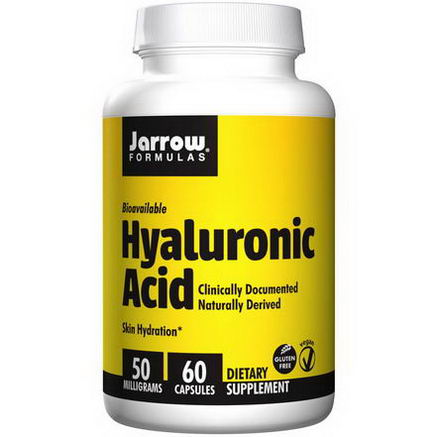 Jarrow Formulas, Hyaluronic Acid, 50mg, 60 Capsules