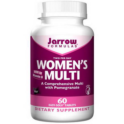 Jarrow Formulas, Women's Multi, 60 Easy-Solv Tablets