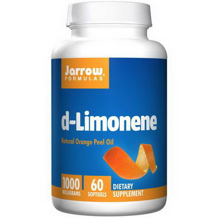 Jarrow Formulas, d-Limonene, 1000mg, 60 Softgels