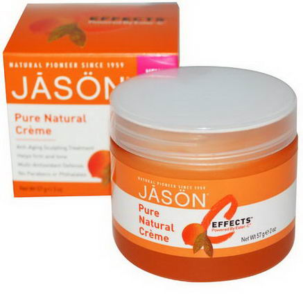 Jason Natural, C Effects, Pure Natural Creme, 2oz (57g)