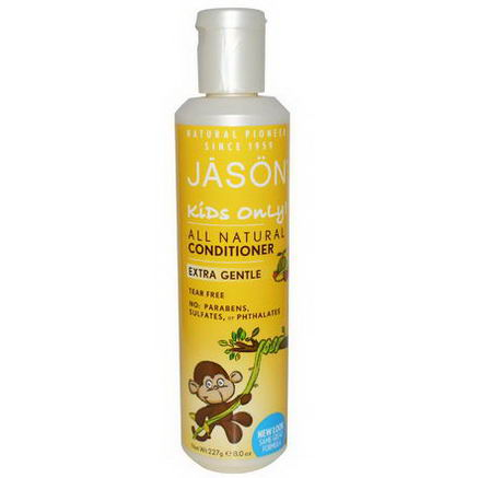Jason Natural, Kids Only, Extra Gentle All Natural Conditioner, 8oz (227g)