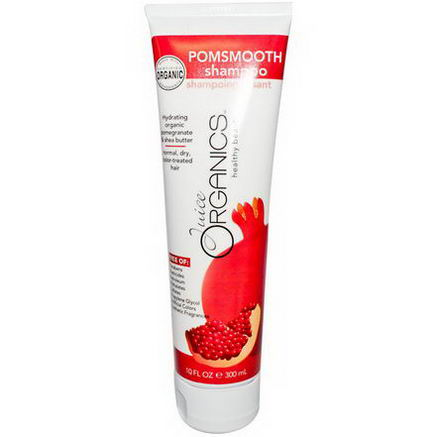 Juice Organics, Pomsmooth Shampoo, 10 fl oz (300 ml)
