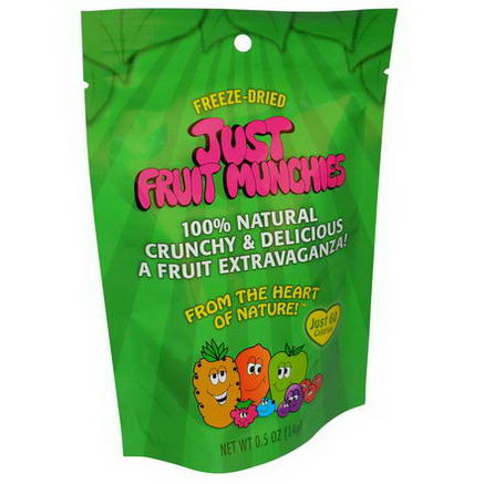 Just Tomatoes Etc, Just Fruit Munchies, 0.5oz (14g)