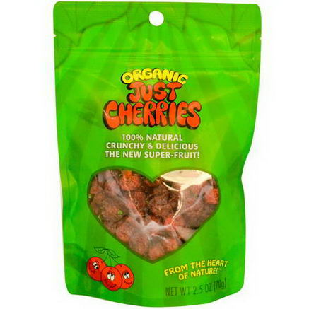 Just Tomatoes Etc, Organic Just Cherries, 2.5oz (70g)