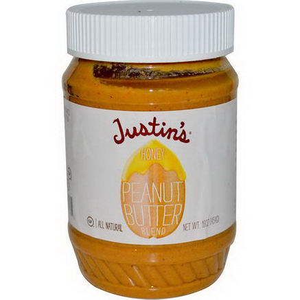 Justin's Nut Butter, Honey Peanut Butter Blend, 16oz (454g)