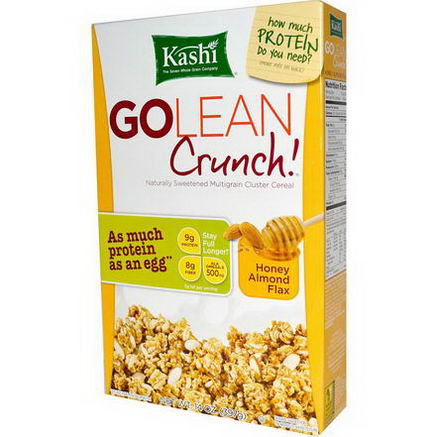 Kashi, GoLean Crunch! Honey Almond Flax, 14oz (397g)