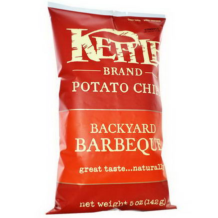 Kettle Foods, Potato Chips, Backyard Barbeque, 5oz (142g)