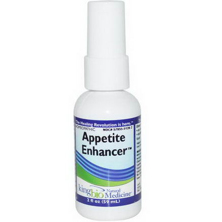 King Bio Homeopathic, Appetite Enhancer, 2 fl oz (59 ml)