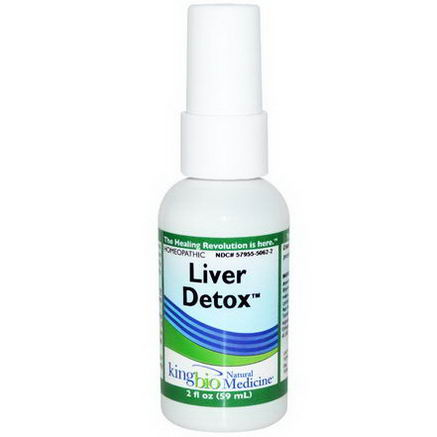 King Bio Homeopathic, Liver Detox, 2 fl oz (59 ml)