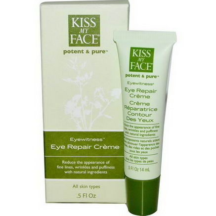 Kiss My Face, Eyewitness, Eye Repair Creme, 5 fl oz (14 ml)