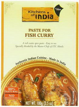 Kitchens of India, Paste For Fish Curry, 3.5oz (100g)