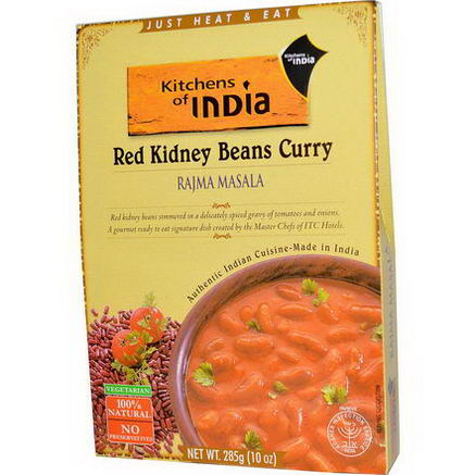 Kitchens of India, Rajma Masala, Red Kidney Beans Curry, 10oz (285g)
